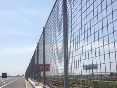 桥梁防抛网围栏