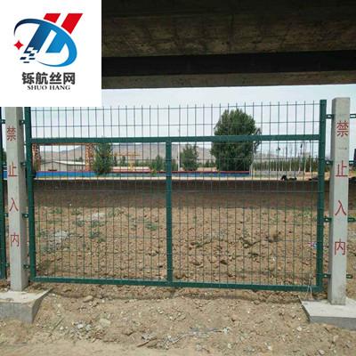 铁路围栏网安装图