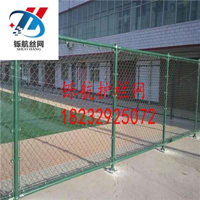 体育场围栏网安装实例