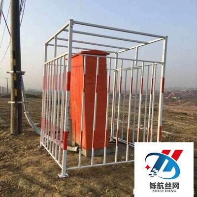 变压器防护棚安装实例