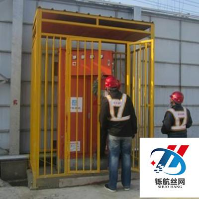 电箱防护棚安装实例